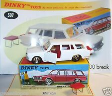 DINKY TOYS ATLAS SIMCA 1500 BREAK REF 507 BOX portes coffre ouvrants IN BOX