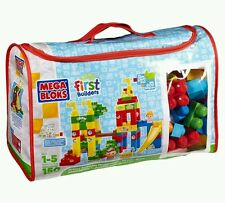 Mega Bloks First Builders Playground Deluxe Building Bag. 150 pieces