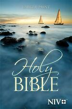 NIV Larger Print Bible by Biblica Staff (2011, Paperback, Large Type)
