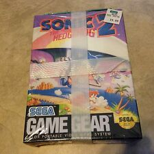 Sonic the Hedgehog 2 NEW factory sealed for Sega Game Gear