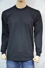 1 PRO5 SUPER HEAVY WEIGHT LONG SLEEVE T-SHIRT PLAIN COLOR S-7XL 1PC