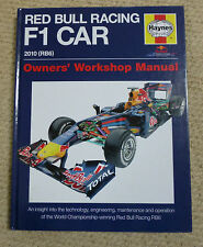 RED BULL RACING F1 CAR HAYNES OWNERS MANUAL 2010 (RB6)