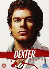 Dexter Season 3 (DVD, 2010, 4-Disc Ensemble)