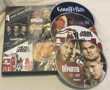 4 Film Favorites: Martin Scorsese Goodfellas | Mean Streets Departed Aviator DVD