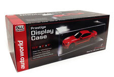PRESTIGE COLLECTABLE DISPLAY SHOW CASE 1/18 BY AUTOWORLD AWDC001
