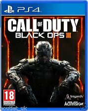 Call OF DUTY BLACK OPS 3 cod III PS4 GIOCO NUOVISSIMO E SIGILLATO