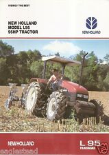 Farm Tractor Brochure - New Holland - Fiatagri - L95 - 1996 (F1663)