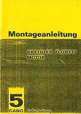 Kreidler Florett K 54 5 Gang Fußschaltung Montage Reparatur Anleitung