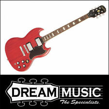 Brand New Epiphone SG G-400 Electric Guitar Worn Cherry Finish RRP$649