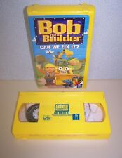Bob the Builder - The Big Game VHS, 2002, Clam Shell Case 45 Min Movie Free Ship