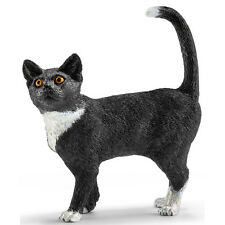 Schleich Cat, Standing 13770 Animal Figure New