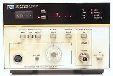 HP Agilent 436A RF Power meter single channel Bolometro -70/+44 dBm 8480 series