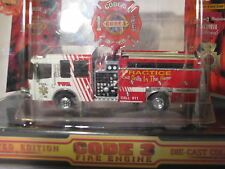 2000 LIMITED EDITION VOL. F.D. CODE 3 DIE-CAST FIRE ENGINES TRUCK RESCUE