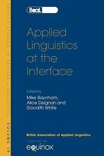 NEW - Applied Linguistics at the Interface: BSAL 19