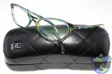 Chanel RX Eyeglasses 3337 1522 Multi Color Green |Made in Italy| [53-16-135]