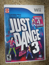 Just Dance 3 (Wii Game - 2011)