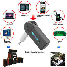Wireless FM Transmitter Bluetooth Music Audio Stereo Adapter Receiver AUX 3.5mm