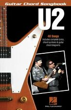 U2 Guitar Chord Songbook Sheet Music Guitar Chord SongBook NEW 000137744