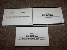 2008 GMC C-4500 Topkick Owner Owner's User Guide Operator Manual Diesel 6.6L V8