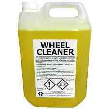 WHEEL CLEANER | 5 LITRE | Professional Grade | Acid Based | Dilute 1:10 | 5L