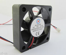 1pc Brushless DC Cooling Fan 50x50x15mm 5015 7 blades 12V 0.14A 2pin Connector