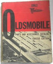 1955 - 1963 OLDSMOBILE CHASSIS  CATALOG MANUAL ALL MODELS ORIGINAL