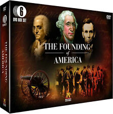 The Founding Of America . (History Channel) . 6 DVD Box . NEU . OVP