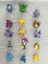 Pokemon miniature figures Lot of 15 RARE 90s