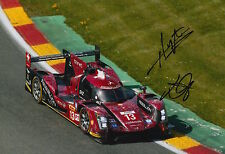 Kraihamer, Imperatori Hand Signed Rebellion Racing 12x8 Photo Le Mans 2016 4.