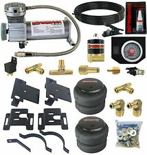 Air Helper Spring Kit AirMaxxx Bolt On 2001 - 2010 Chevy GMC 2500 Load Level
