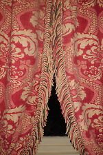 "10ft8""x8ft6 NINA CAMPBELL MEREDITH LINED HARFORD SCROLL FRINGING FRENCH"