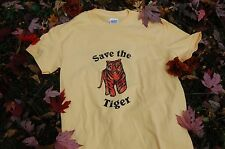 Endangered Animals Save the Tiger Short Sleeve T-shirt Adult X-Large