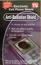 10 - CELL PHONE - Anti-Radiation Shield - Tablets, Ipads, Iphones, Pagers,
