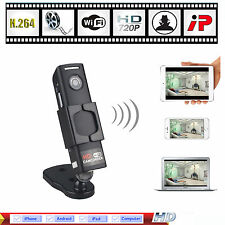 Mini HD 720P Wifi IP Camera DVR Wireless Network Security Spy Hidden Cam CCTV