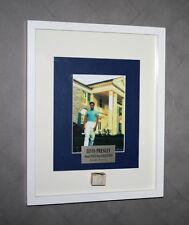 FRAMED Graceland ELVIS FENCE Piece, COA, Plaque, UACC, Memphis Newspaper + MORE!