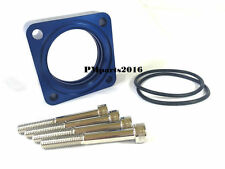 Blue Throttle Body Spacer fit 91-99 Nissan 200SX Sentra 91-96 Infiniti G20 2.0L