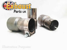 Lextek Sinnis Apache Link Pipe Stainless Steel Exhaust Connector Down Pipe