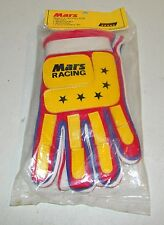 Vintage NOS Mars Racing BMX Bike Bicycle Motocross Gloves, C.C.Skiing Adult L
