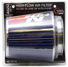 "K&N 3"" to 4"" Round Tapered Universal Air Intake Cone Filter Chrome Car/Truck/SUV"