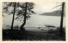 Leo's Studio Real Photo Postcard; Outlet Bay, Priest Lake ID Bonner Co Unposted