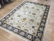 Beluchi Ziegler LT Beige & Blue Traditional Silk Look Viscose Rugs 160X230CM