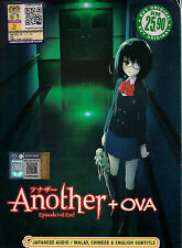 ANOTHER VOL. 1-12 END + OVA JAPANESE ANIME DVD BOX SET ENGLISH SUBTITLES