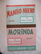 Partition Mambo Nuevo de Adrien Marès Morinda Georges Ghestem