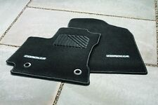 Toyota Corolla MT 2014 Black Carpet Mats with Silver Thread Set of 4 - OEM NEW!