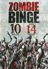 Zombie Binge 10 Movies DVD I Am Omega Hide & Creep Last Of The Living Die-Ner