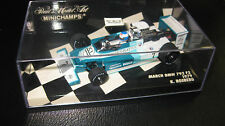 MINICHAMPS 1.43 F1 MARCH BMW 792 F2 CHAMPIONSHIP  ROSBERG 1979 #7 OLD SHOP STOCK