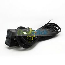 HID Conversion Kit Dual Relay Wiring Harness for H4 9003 HB2 Hi/Lo beam 4 Lamps