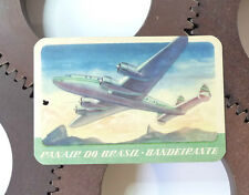 Etiquette Bagage Aviation Panair Do Brasil Airlines Luggage Labels 1940