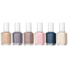 Essie Cashmere Matte Collection Spring 2015 Nail Polish Lacquer Set Of 6 Colors