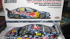 CLASSIC 1/18 LOWNDES RICHARDS 2014  BATHURST CAMO HOLDEN COMMODORE VF RED BULL